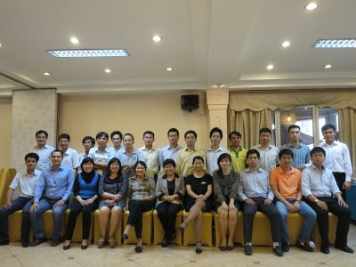 Training on EE project financial analysis