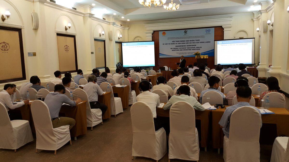 Hội thảo nâng cao nhận thức về sử dụng và vận hành nồi hơi HQNL