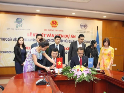Project Signing Ceremony