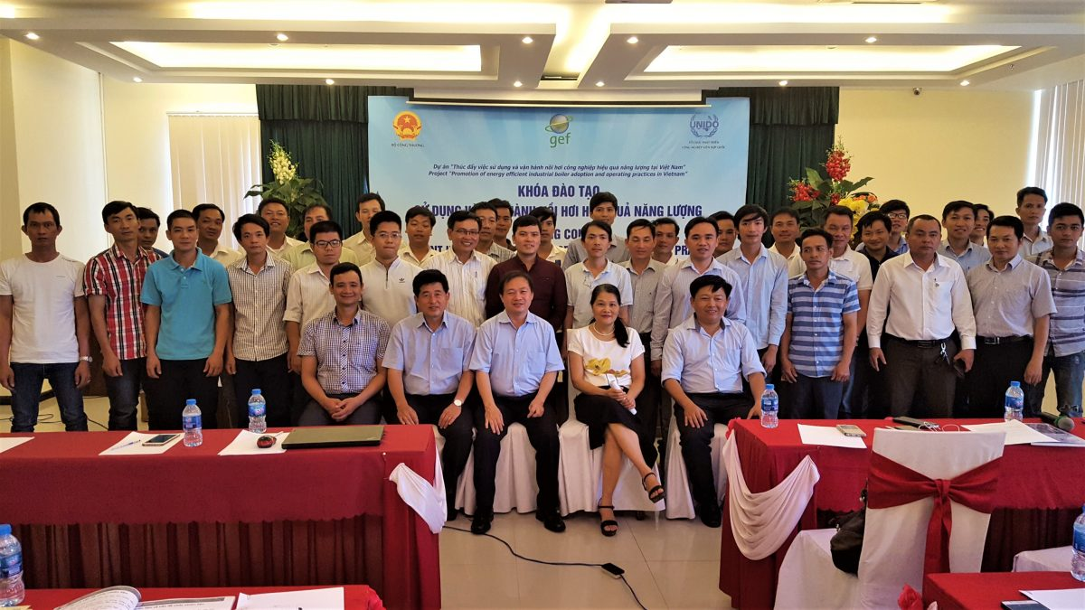 "Training course on ""Efficient industrial boiler adoption and operating practices"" in Da Nang"
