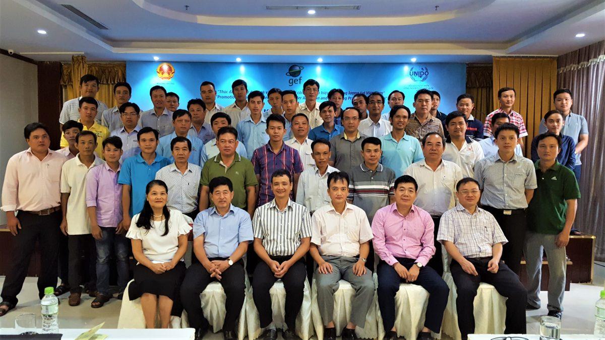 """Lần đầu tổ chức Khóa đào tạo """"Sử dụng và vận hành nồi hơi hiệu quả năng lượng"""" tại khu vực Đồng bằng Sông Cửu Long"""